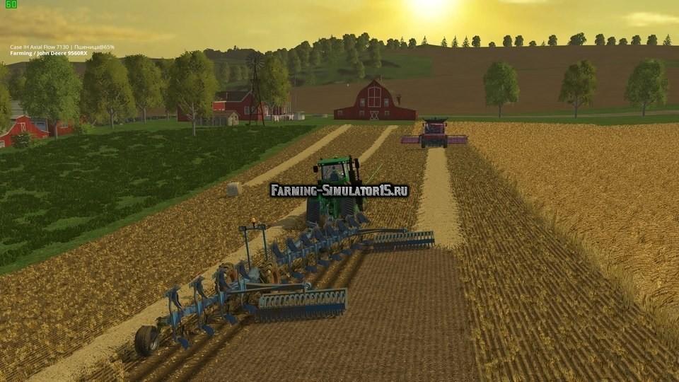 скачать мод для Farming Simulator 2015 плуг - фото 3