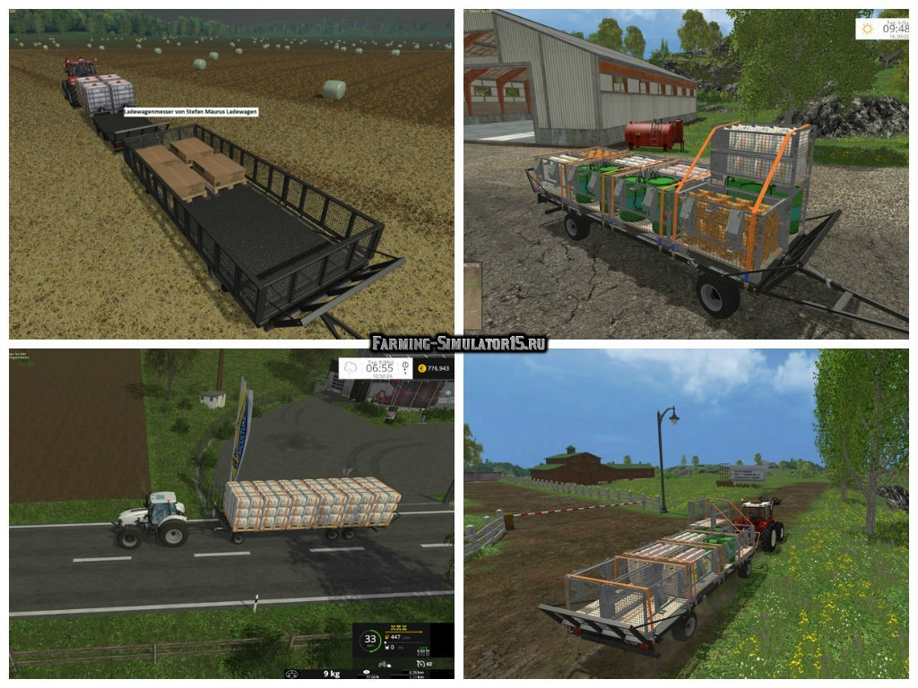 скачать мод на фермер симулятор 15 на комбайны