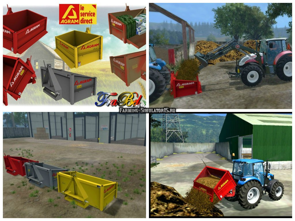 Мод Bennette 3 Points Agram v 2.0 Farming Simulator 15