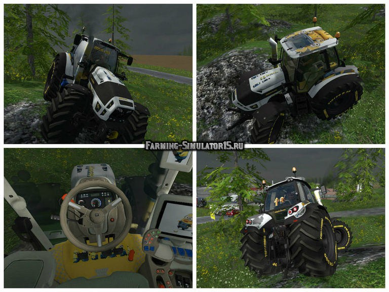 Мод трактор Deutz Fahr 7250 Minion v 1.0 Farming Simulator 15