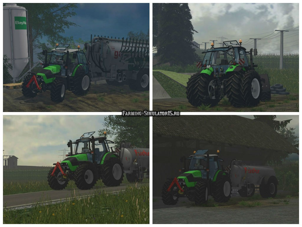 Мод трактор Deutz Fahr TTV 430 v 1.0 Farming Simulator 2015