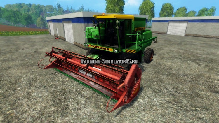 Farming Simulator 2015 Моды Комбайны Дон С Пуном