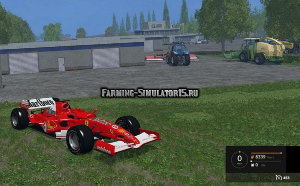 Мод автомобиль FERRARI F248 RACE CAR V1 Farming Simulator 2015