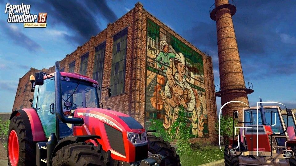 Farming Simulator 2015 Gold Edition выйдет в конце октября