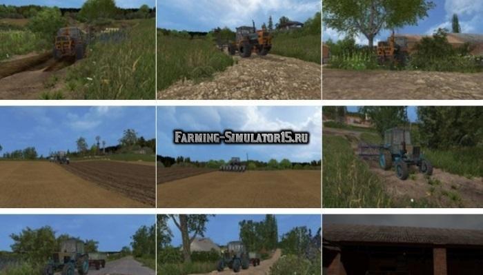 фермер симулятор 2015 как сьросить карту