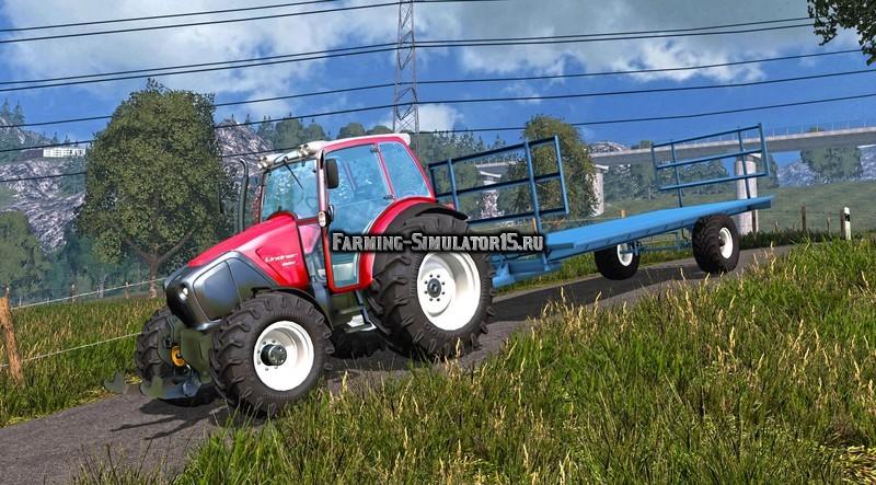 Мод прицеп Homemade Bale Trailer v 1.0 Farming Simulator 2015