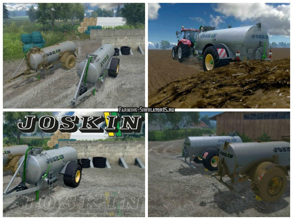 Мод бочка для навоза Joskin Modulo 10500 v 1.0 Farming Simulator 15