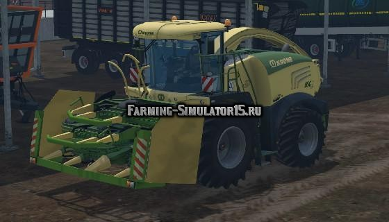 Мод комбайн KRONE BIG-X 580 Farming Simulator 2015