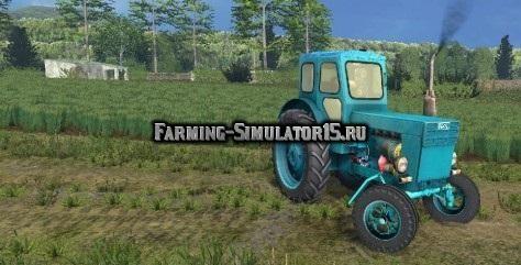 Мод трактор LTZ ЛТЗ Т40 v.2.0 Фермер Симулятор 2015