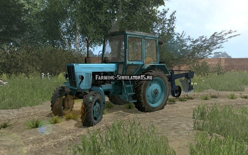 Мод трактор МТЗ Беларус MTZ 82 Фермер Симулятор 2015