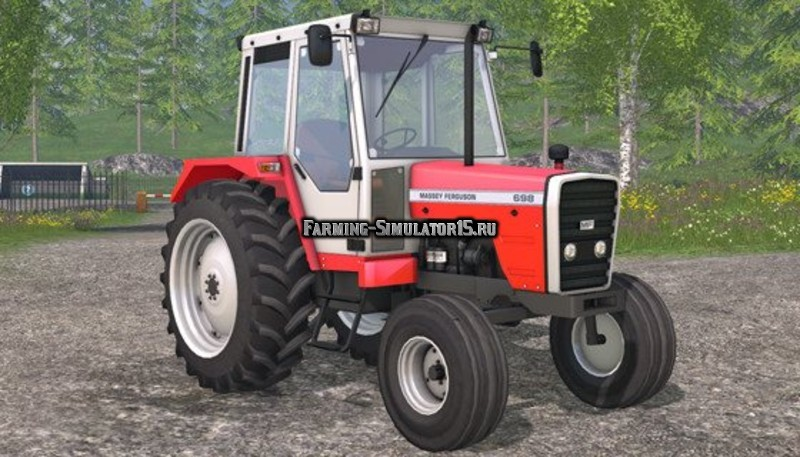 Мод трактор Massey Ferguson 698 v 1.0 Farming Simulator 2015