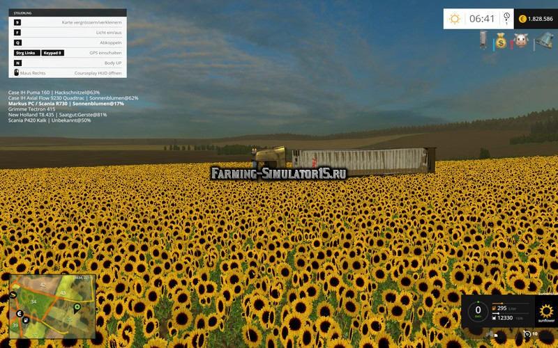 Скачать Мод Сеялки Для Подсолнуха Для Farming Simulator 2015 - фото 7