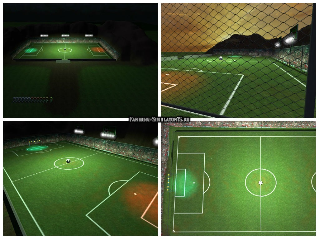 Мод карта Trucker Football Map V 1.9 Beta Farming Simulator 15