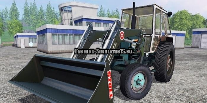 Мод трактор ЮМЗ UMZ 6KL FL TRACTOR v 2.2 Фермер Симулятор 2015