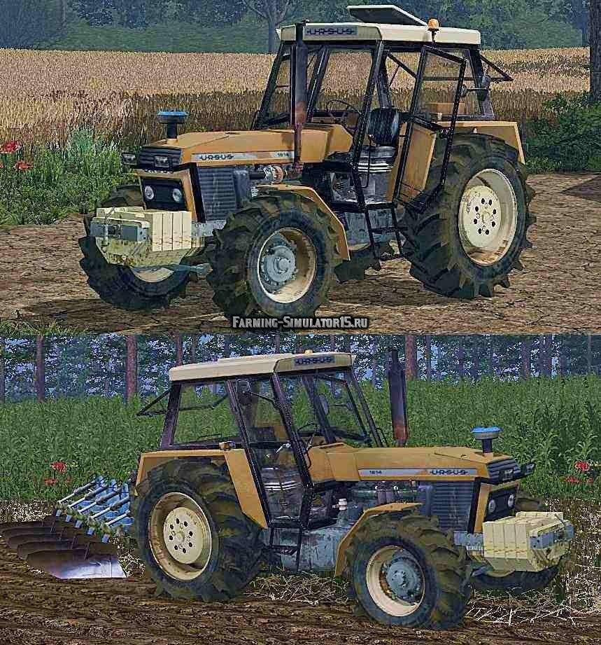 Мод трактор Ursus 1614 Farming Simulator 2015