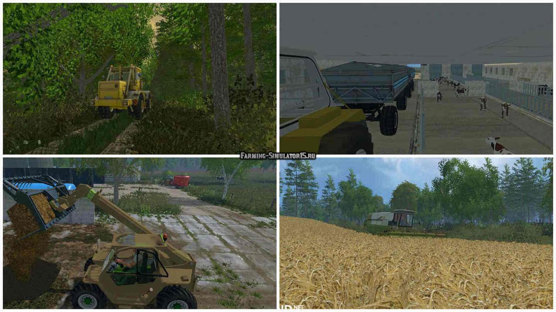как устоновить карты на фермера 2009
