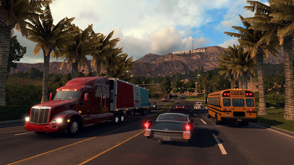 Сайт Euro Truck Simultor 2 и American Truck Simulator
