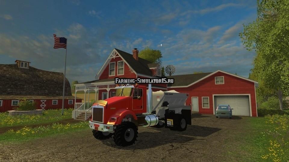 Мод грузовик ESPARCIDOR DE FERTILIZANTES V1 Farming Simulator 15