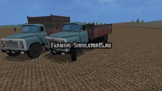 Мод грузовик GAZ ГАЗ 53 Фермер Симулятор 2015
