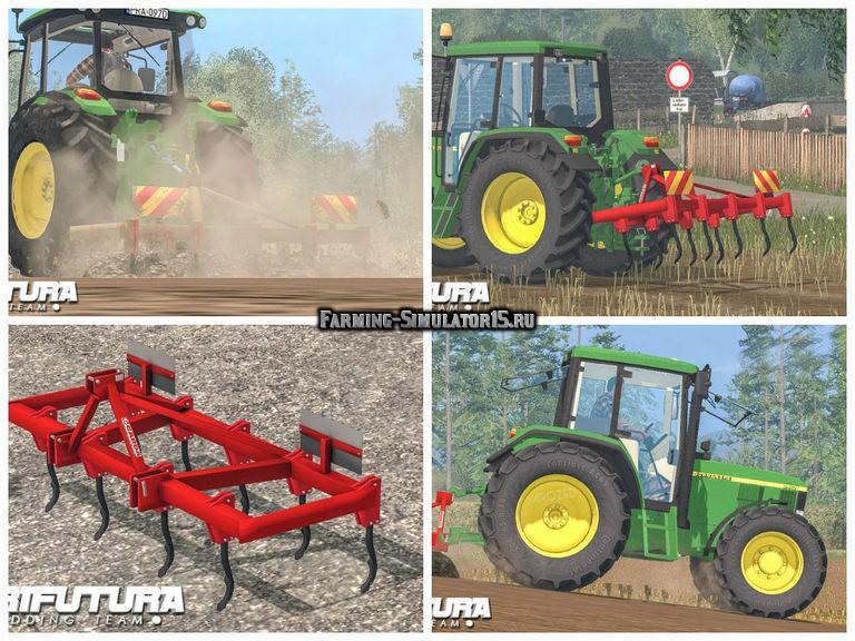 Мод культиватор Garda 2.5 m v 1.0 Farming Simulator 2015