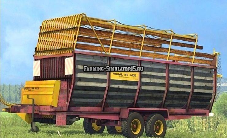 Мод прицеп Horal MV3 030 v 1.0 Farming Simulator 2015