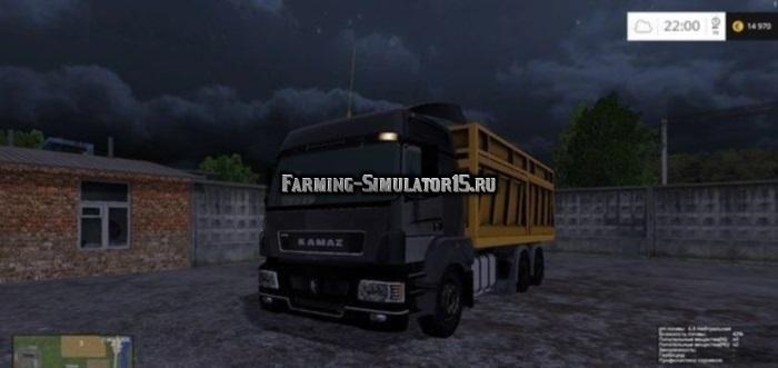 скачать мод камаз 5490 для Farming Simulator 2017 - фото 6