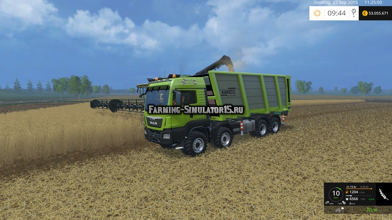 Мод модуль KAWECO PullBox Swap v 1.0 Farming Simulator 2015