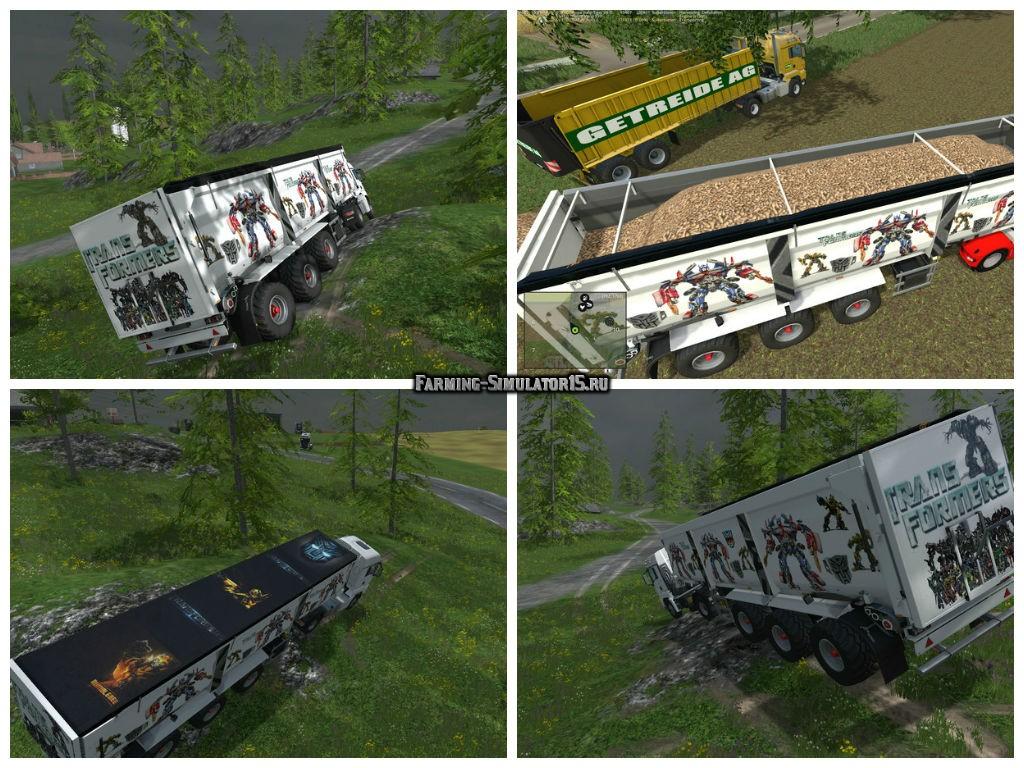 Мод прицеп Krampe SB 3060 Transformers v 1.1 Farming Simulator 15