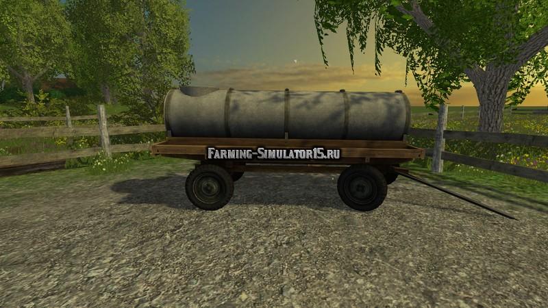 Мод бочка для воды Mobile Water Tank v 1.0 Farming Simulator 15