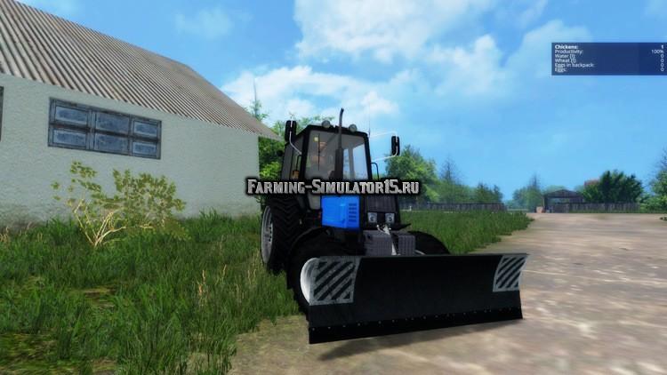 Мод трактор Беларус 892 МТЗ MTZ Belarus Фермер Симулятор 2015