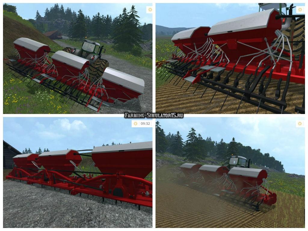Мод сеялка Poettinger Aerosem 10500 v 1.0 Farming Simulator 15