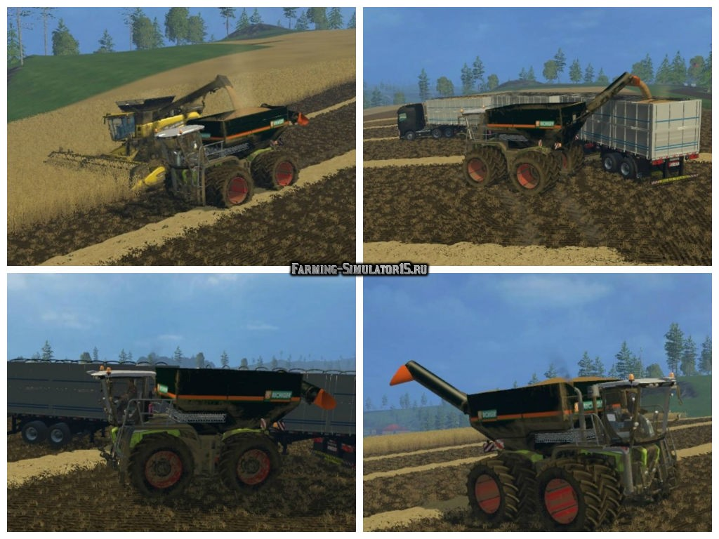 Мод модуль Richiger Overcharge Construction v 2.0 Farming Simulator 2015