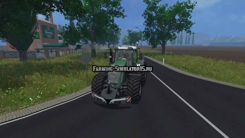 Мод противовес Safety Weight v 1.0 John Deere Skin Farming Simulator 15