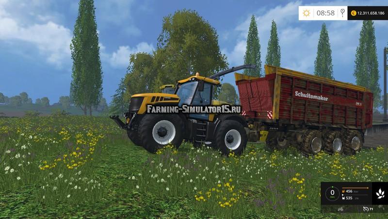 Мод прицеп Schuitemaker Siwa 720 & 840 V 2.0 Farming Simulator 2015