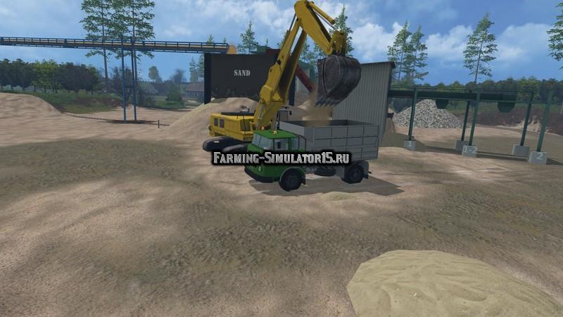 Мод грузовик Skoda Liaz Tipper v 1.1 Farming Simulator 2015