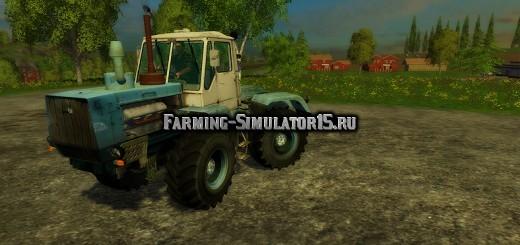 Мод трактор ХТЗ T-150K XTZ v1.1 Фарминг Симулятор 2015