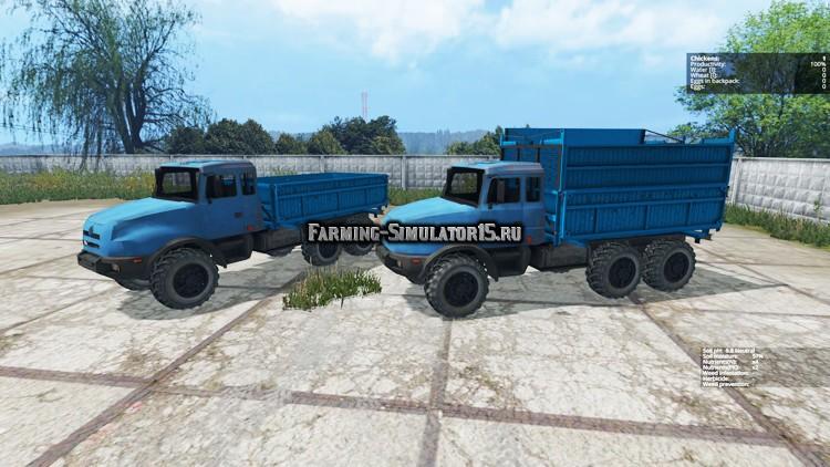 Мод грузовик URAL Урал 44202-59 v 1.0 Фермер Симулятор 2015
