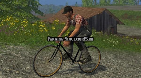 Мод велосипед Wright St. Clair Railway Road v 2.0 Farming Simulator 15