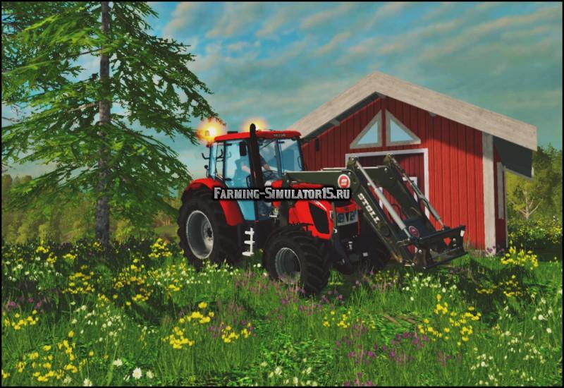 Мод трактор Zetor Forterra HSX 140 Tractor V 1.0 Farming Simulator 15