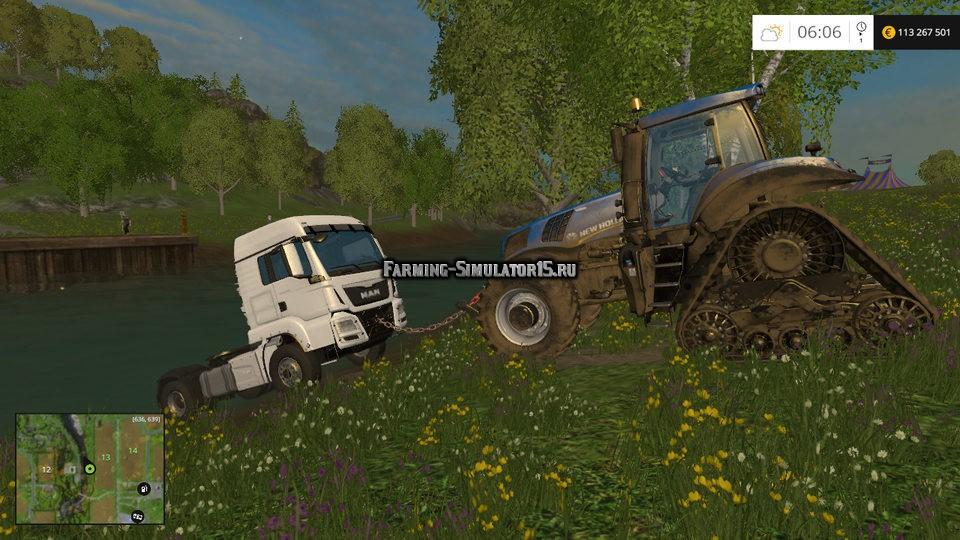 скачать моды на фермер симулятор 2017 трос