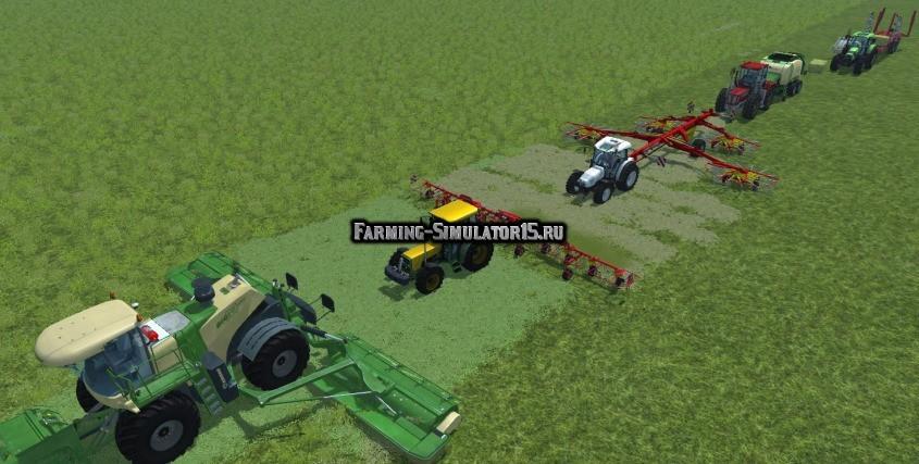 Мод Follow Me v3.5 Farming Simulator 2015