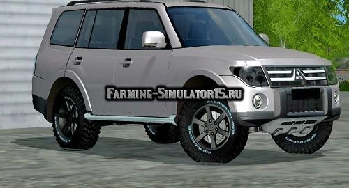 Мод автомобиль MITSUBISHI PAJERO FUL Farming Simulator 2015