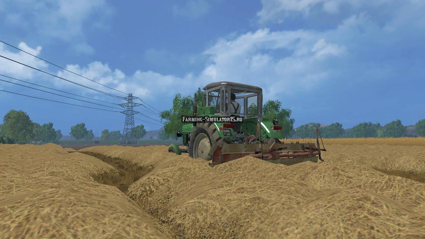Мод ворошилка Agromet Z234 v 1.0 Farming Simulator 2015