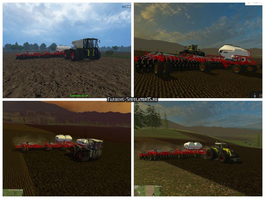 Мод сеялка Bourgault AD22 v1.0 Farming Simulator 15