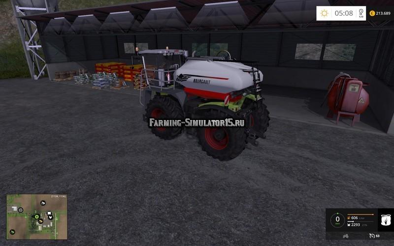 Мод модуль Bourgault Fertibox v 1.0 Farming Simulator 2015