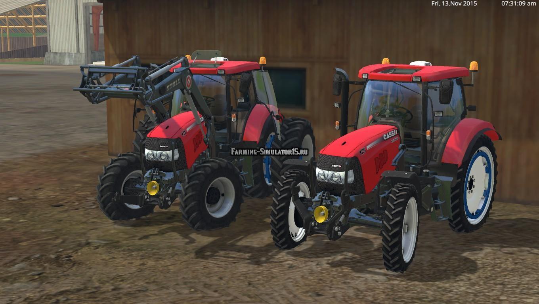Мод трактор Case IH Maxxum 125 v 1.0 Farming Simulator 2015