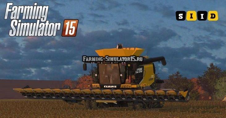 Мод комбайн Claas Lexion 770TT USA v 1.0 Farming Simulator 15