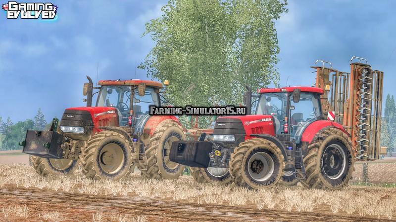Мод трактор Case Puma CVX Series v 1.0 Farming Simulator 15