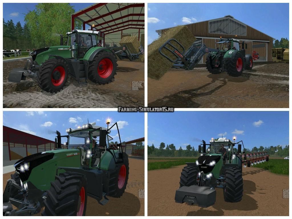Мод трактор Fendt 1050 Vario v 3.7 Farming Simulator 15