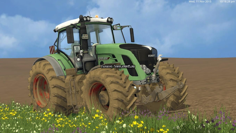 Мод трактор Fendt Vario 939 v 1.0 Farming Simulator 15